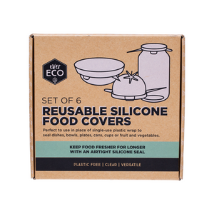 everECO Reusable Silicone Food Covers