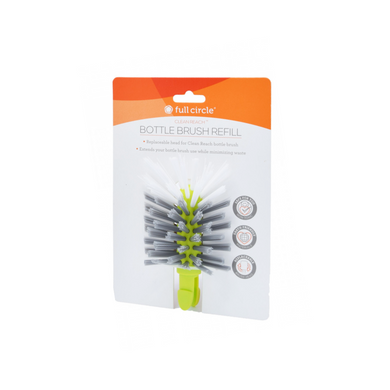 Full Circle 'Clean Reach' Bottle Brush Refill - Green