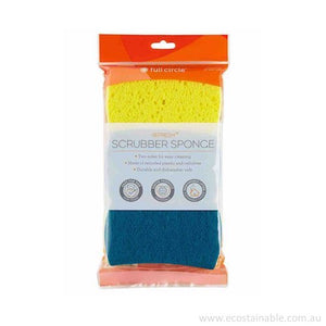 Full Circle 'Refresh' Scrubber Sponges in packet