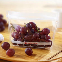 Full Circle 'Ziptuck' Reusable Snack Bags with grapes