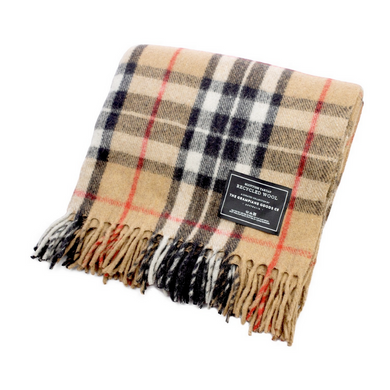 The Grampians Goods Co. Recycled Wool Blanket - Camel