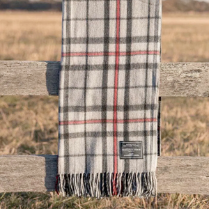 The Grampians Goods Co. Recycled Wool Blanket - Grey