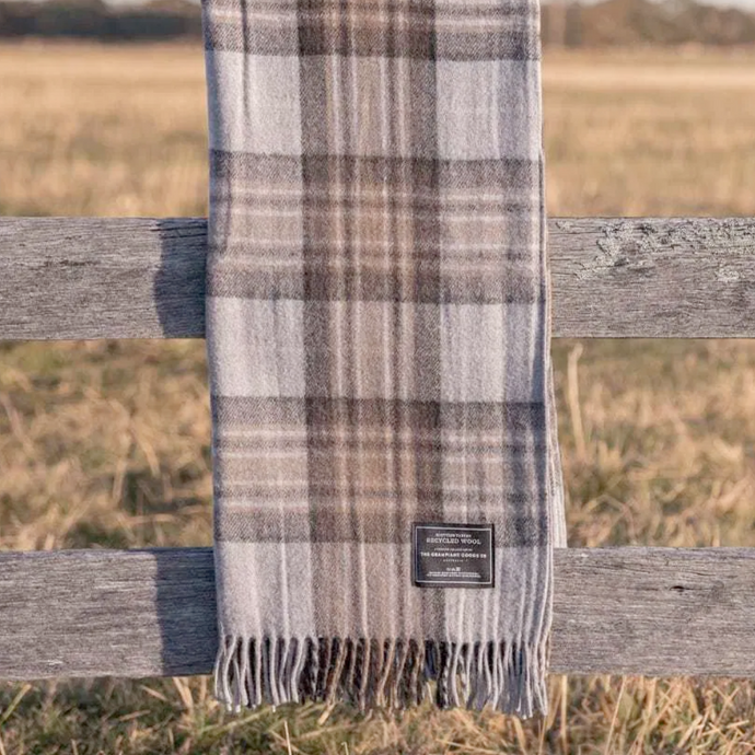 The Grampians Goods Co. Recycled Wool Blanket - Winter