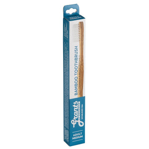 Grants of Australia Bamboo Toothbrush with Medium Bristle in Box