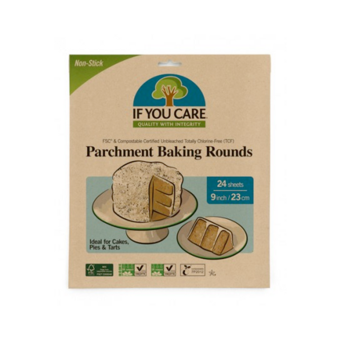 If You Care - Baking Paper Rounds