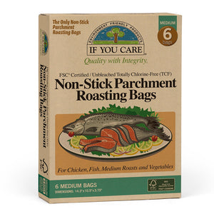 If You Care - Non Stick Parchment Roasting Bags (Medium)