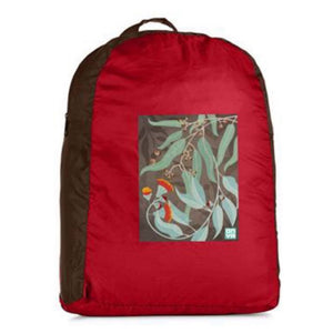 ONYA Backpack - Dark Leaves