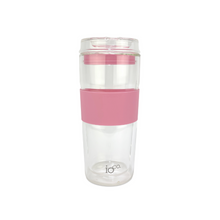 IOCO Traveller Glass Cup 16oz - Dusty Rose
