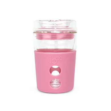 IOCO Traveller Glass Cup 8oz - Dusty Rose