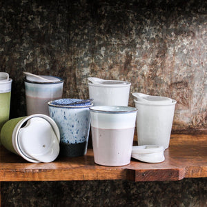 It's a Keeper Ceramic short travel cup collection