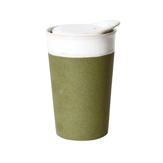 It's a Keeper Ceramic Travel Cup - Tall - Sprout Green