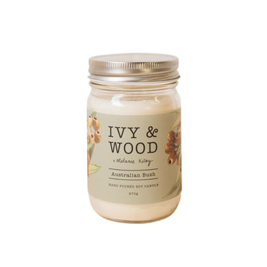 Ivy & Wood Australiana Candle - Australian Bush