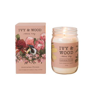 Ivy & Wood Australian Bush Candle with box
