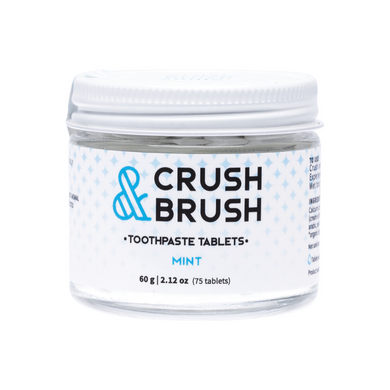 Crush & Brush Toothpaste Tablets - Mint