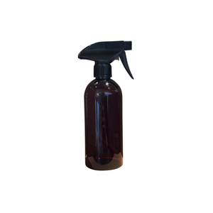 Amber Recycle PET Plastic Spray Bottle - 500ml