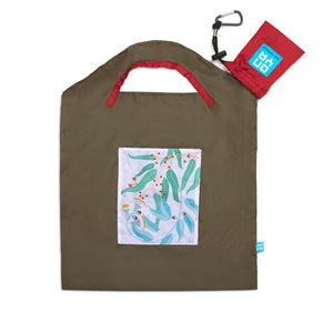 ONYA Recycled Shopping Bag - Small - Light Leaves