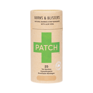 PATCH Aloe Vera Adhesive Bamboo Bandages in tube