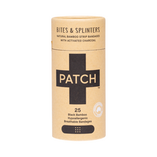 PATCH Adhesive Bamboo Bandages Activated Charcoal in tube