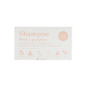 Shampoo With A Purpose Colour Treated