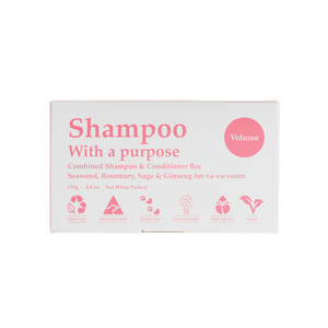 Shampoo With A Purpose Volume Bar