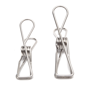 Stainless Steel 'Infinity' Pegs - Duo Pack