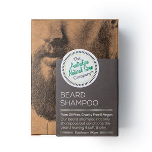 The Australian Natural Soap Co. - Beard Shampoo Box