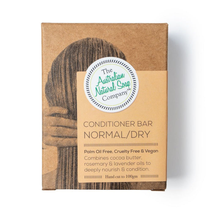 The Australian Natural Soap Co. - Conditioner Bar Normal/Dry in box