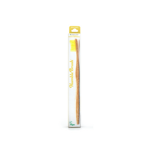 The Humble Co. Bamboo Toothbrush Adult Yellow - Soft