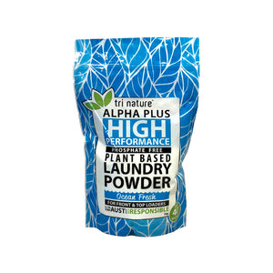 Alpha Plus Laundry Powder - Ocean Fresh Fragrance - 1kg Soft Pack Refill