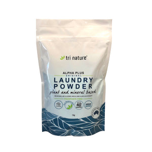 Alpha Plus Laundry Powder - Original/No Fragrance 1kg Soft Pack