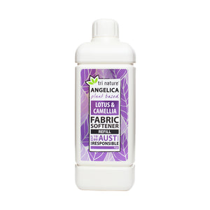 Angelica Fabric Softener 1L Refill - Lotus & Camellia