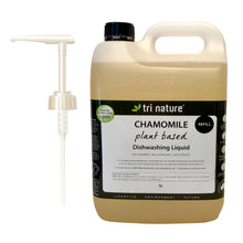 Chamomile Dishwashing Liquid 5L Refill with Pump