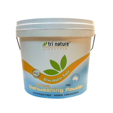 Tri Nature Citrus Dishwashing Powder 10kg Bucket