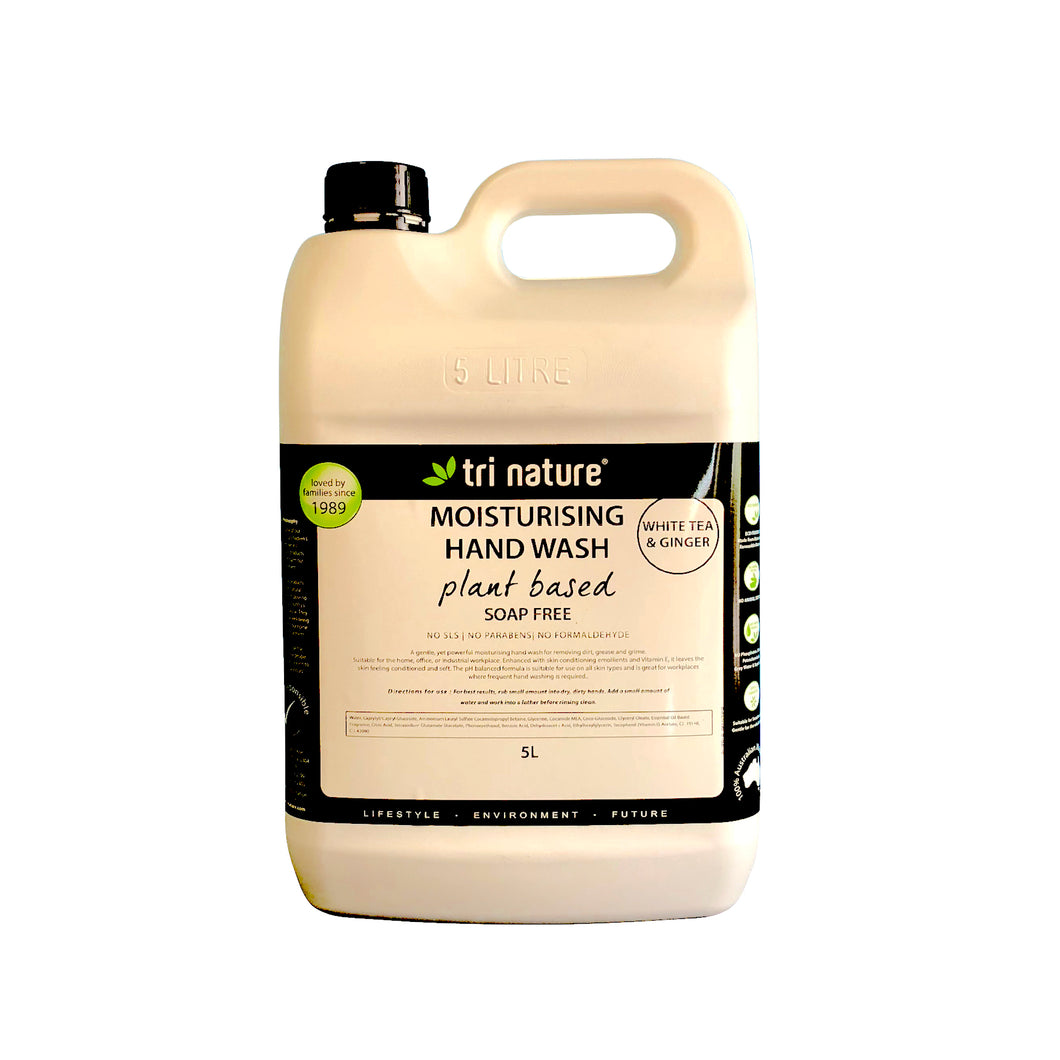 Hand Wash White Tea and Ginger 5L