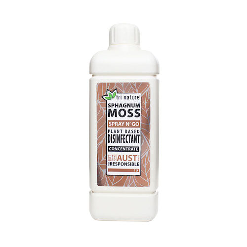 Sphagnum Moss Disinfectant Concentrate