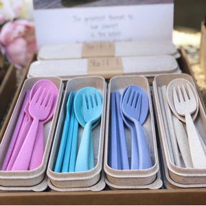 IOCO Wheat Straw Cutlery Set