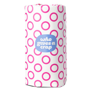 Who Gives A Crap Forest Friendly Paper Towel - Pink Wrap