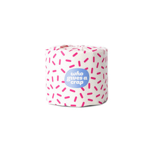 Who Gives A Crap 100% Recycled Toilet Paper - Pink Wrap