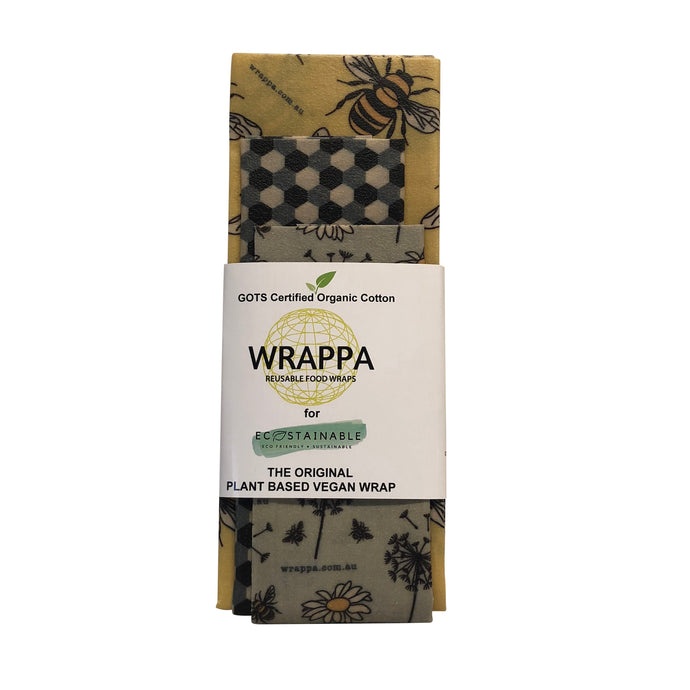 WRAPPA Vegan Wraps - 3pk - Busy Bees