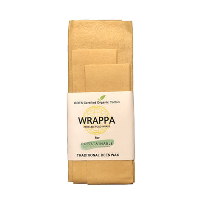 WRAPPA Beeswax Wraps Naturally Beautiful