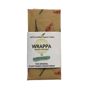 WRAPPA Vegan Wraps - Jumbo - Wattle
