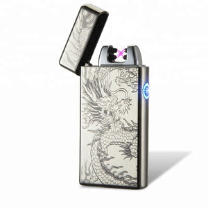 Black Dragon Dual Arc Plasma Lighter