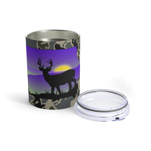 Iowa White Tail Tumbler 10oz