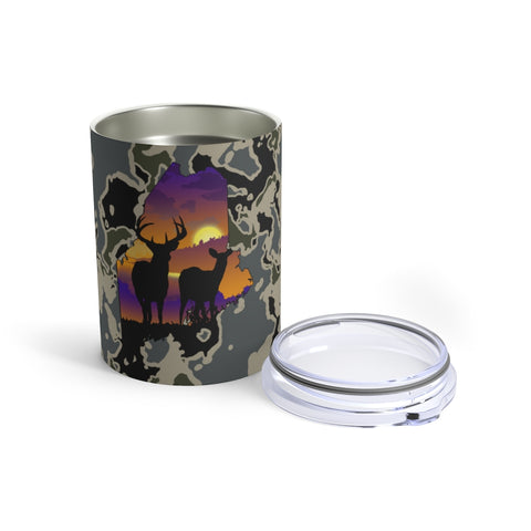 Maine Deer Tumbler 10oz