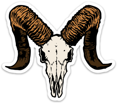 Dall Sheep Euro Sticker