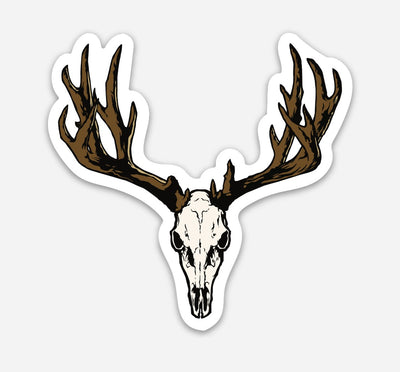 43rd Exposure Mule Deer Euro Sticker
