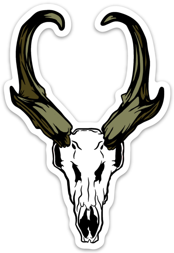 Antelope Euro Sticker