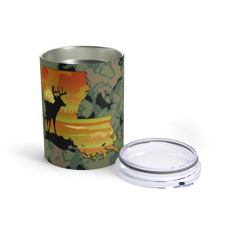 Louisiana Deer Tumbler 10oz