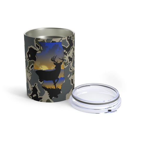 Illinois Deer Tumbler 10oz