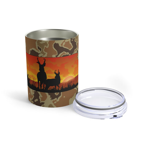 Kansas Deer Tumbler 10oz